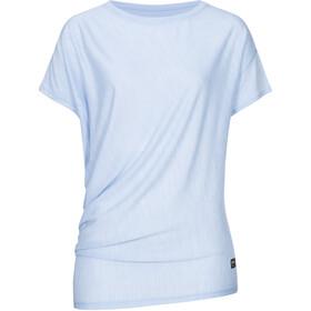 super.natural Yoga Maglietta Ampia Donna, blu